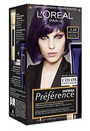 Loreal Paris Infinia Preference Haarverf - Infinia 3.16 Deep Purple