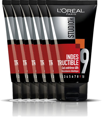 Loreal Paris Studio Line Indestructible Special Fix Gel Voordeelverpakking