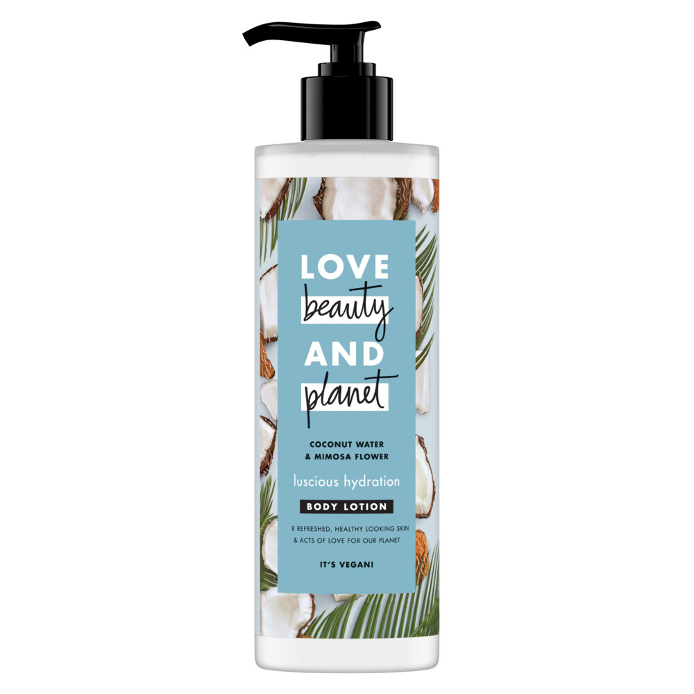 Love Beauty and Planet Body Lotion Coconut Water en Mimosa Flower 400 ml