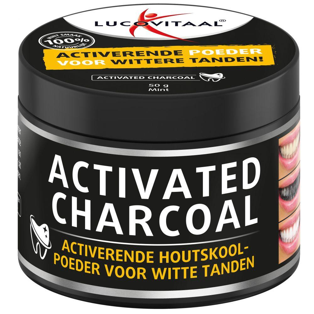 Lucovitaal Activated Charcoal Houtskoolpoeder Supplement