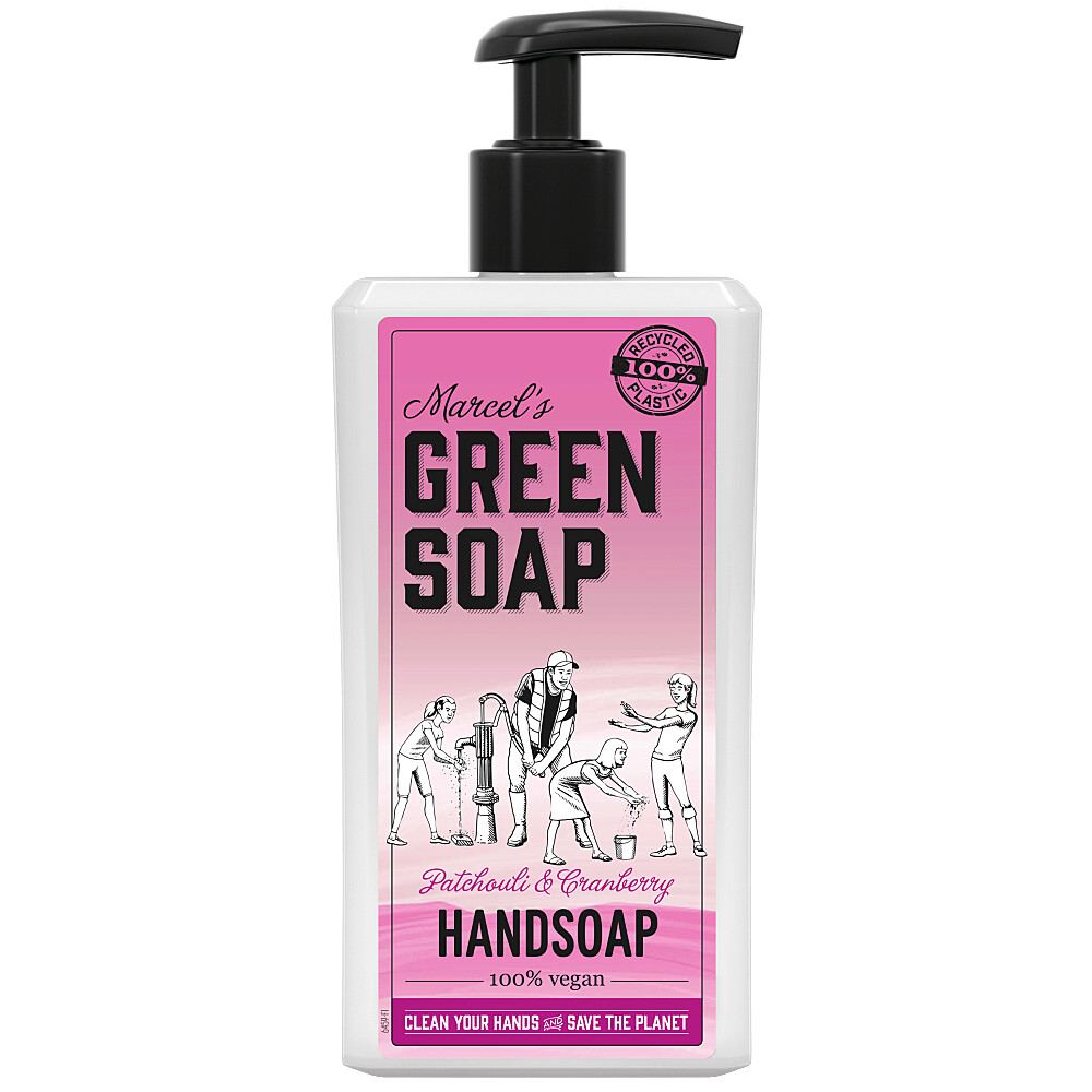 Marcel\s Green Soap Handzeep Patchouli&Cranberry 500 ml
