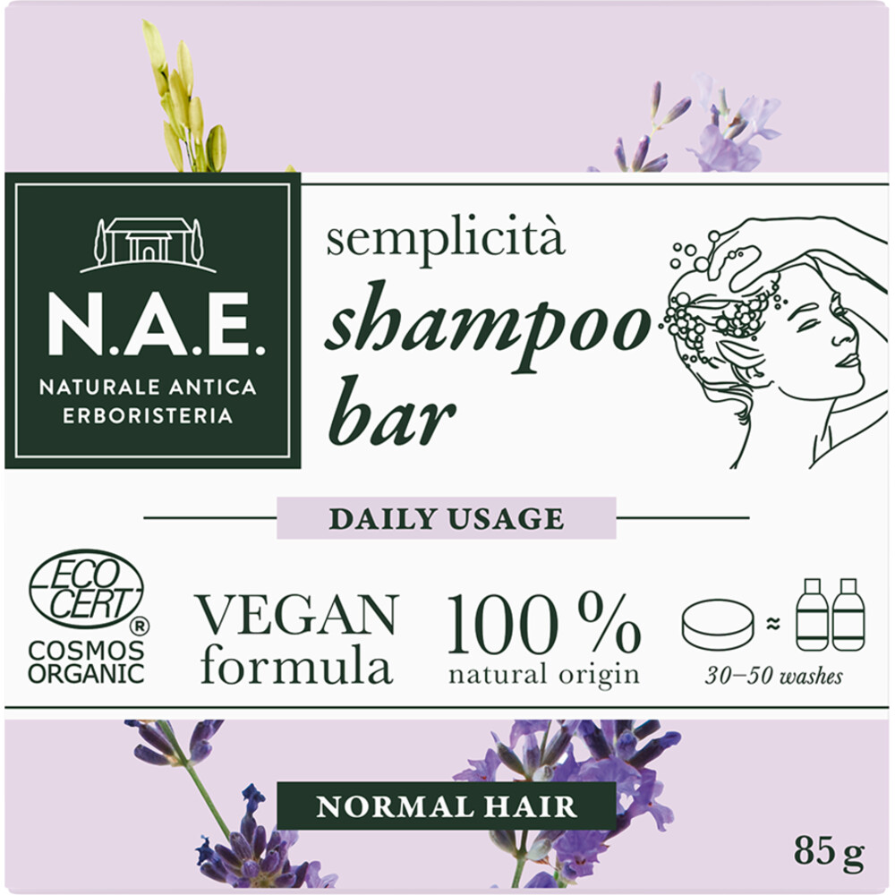 N.A.E. Shampoo Bar Daily Usage 85 gr