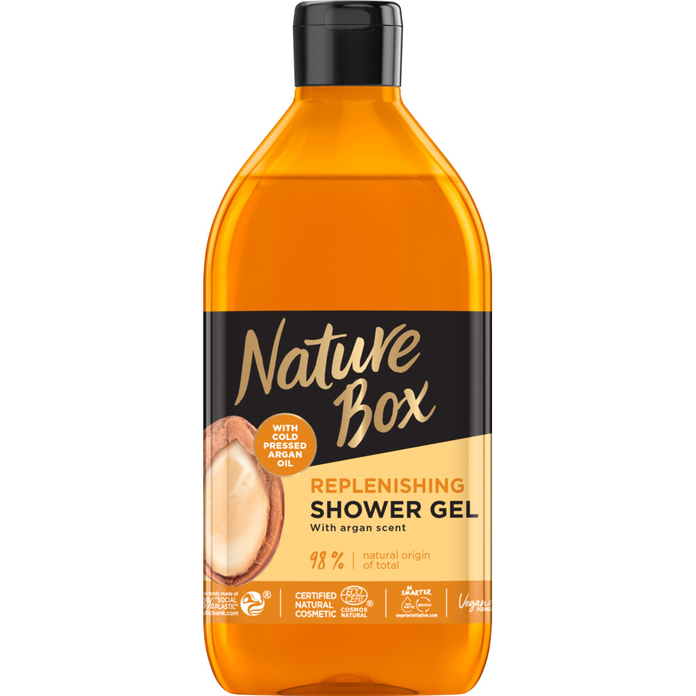 Nature Box Replenishing Argan Douchegel 385 ml