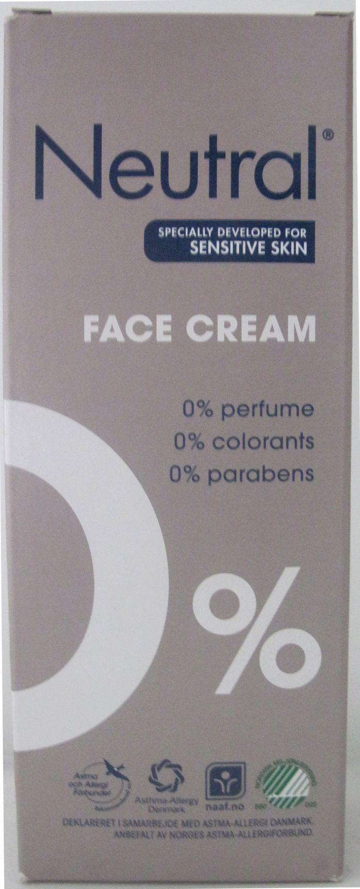 Neutral Face Crème - 50 ml