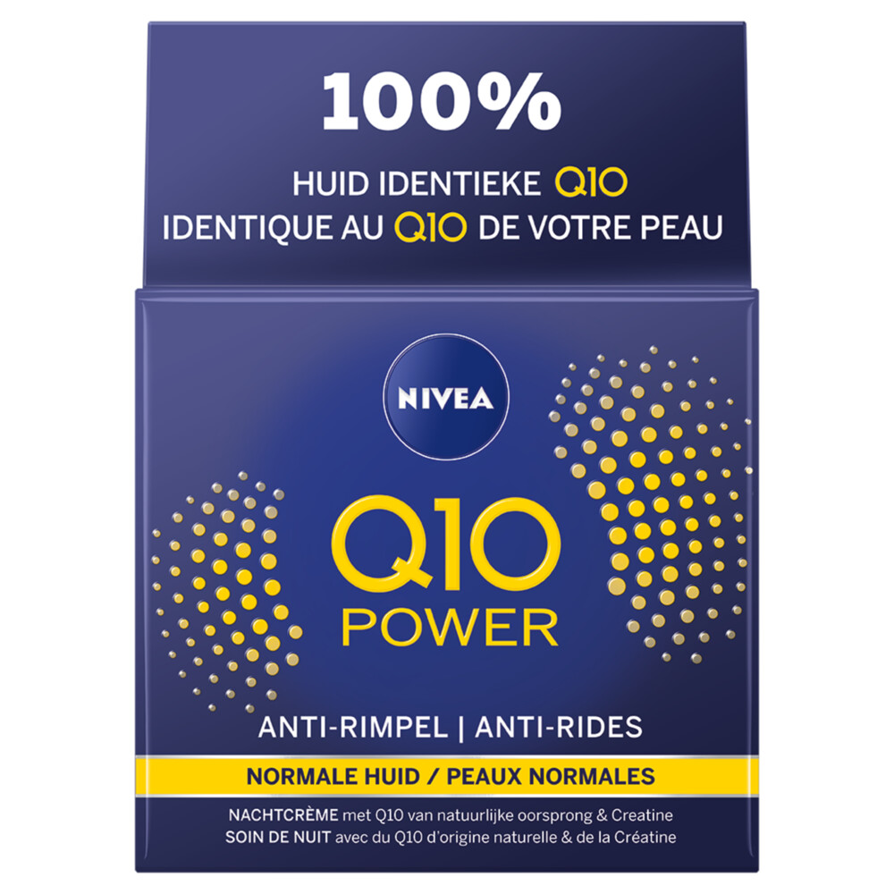 Nivea Anti-Rimpel Nachtcreme Q10plus 50 ml