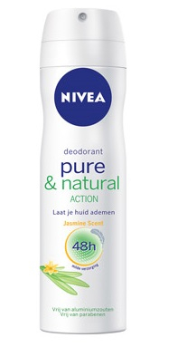Nivea Deodorant Deospray - Pure & Natural Jasmine 150 ml