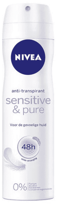 Nivea Deodorant Deospray - Sensitive & Pure 150 mL