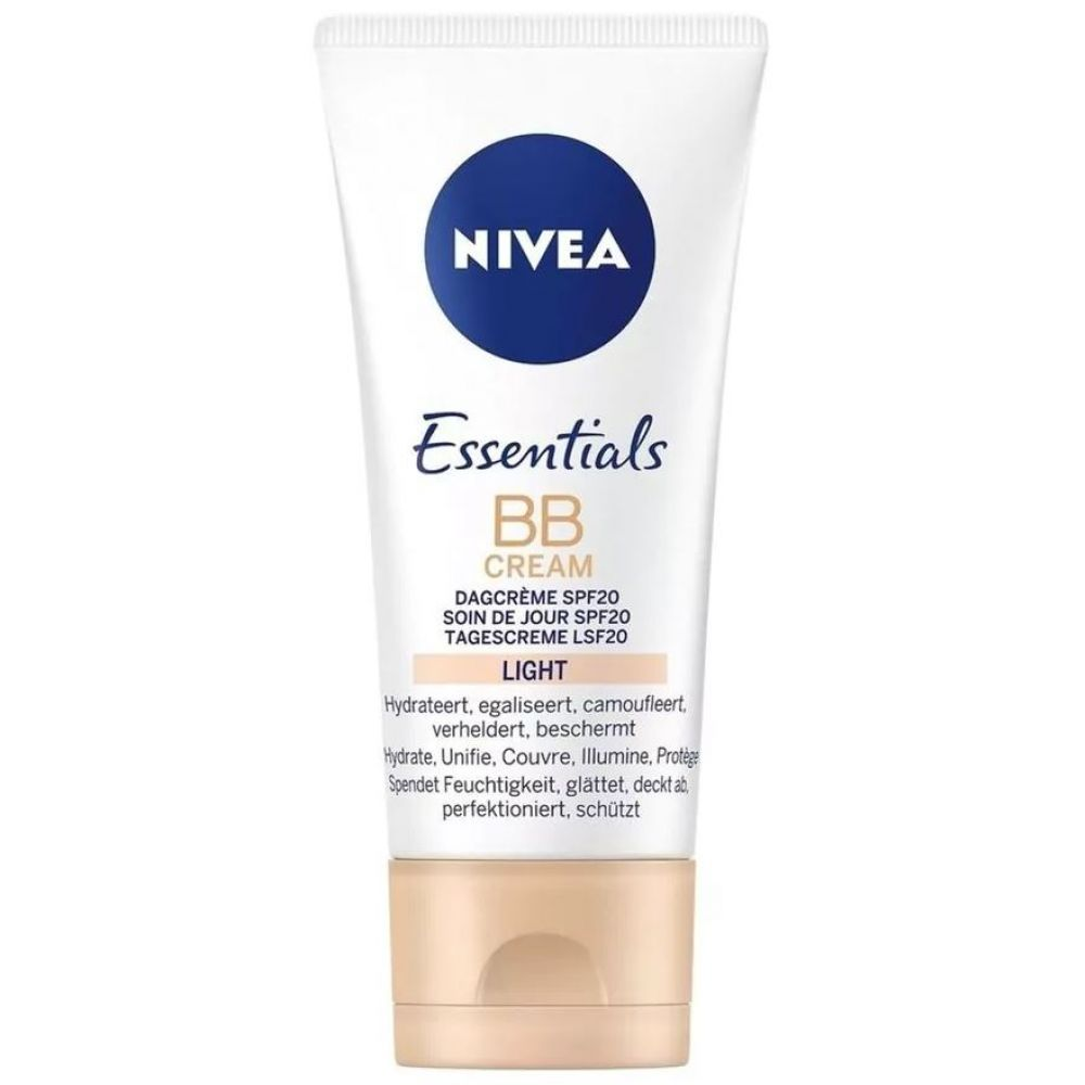 Nivea Essentials BB Cream SPF 10 Light 50 ml