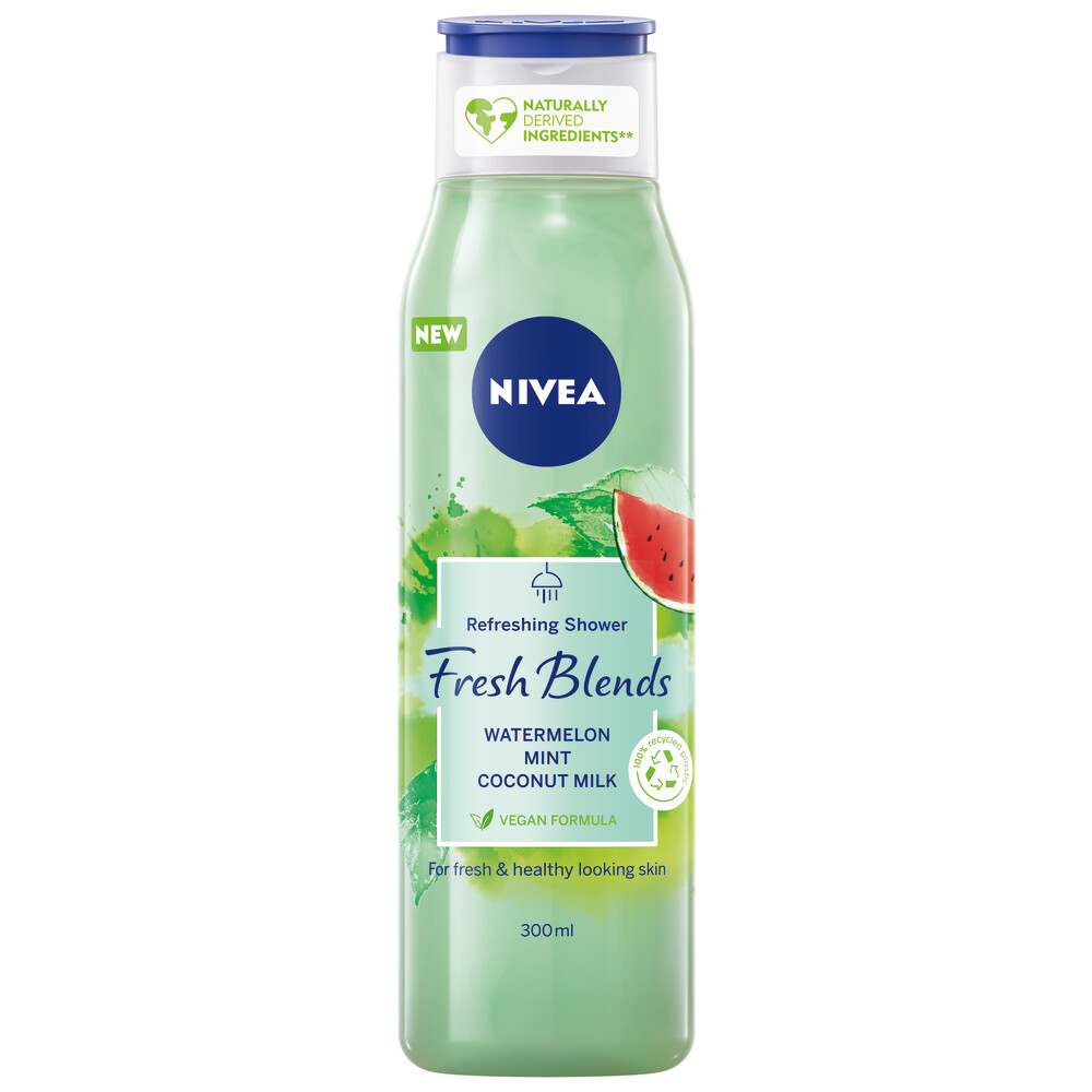 Nivea Fresh Blends Douchegel Watermelon 300 ml
