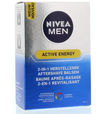 Nivea Men Aftershave Active Energy 2in1 (100ml)