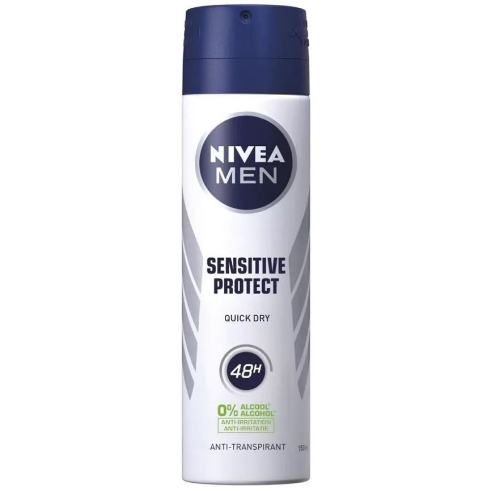 Nivea Men Deodorant Spray Sensitive Protect 150 ml