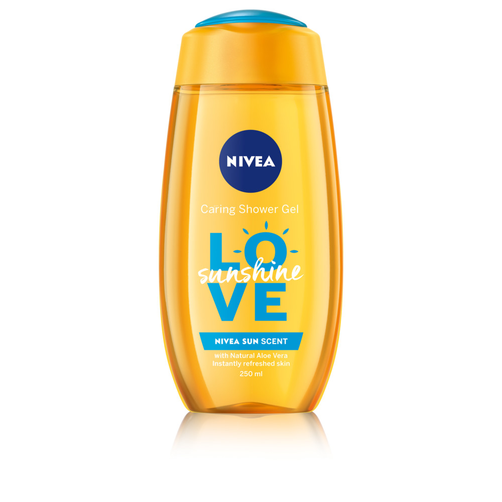 Nivea Verzorgende douchegel LOVE Sunshine 250 ml