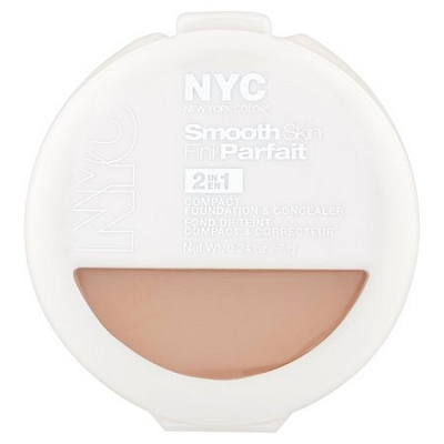 Nyc Smooth Skin 2in1 Foundation And Concealer 002 Light