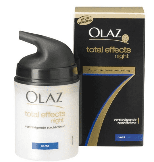 Olaz Total Effects 7 Verstevigende Nachtcreme - 50 ml