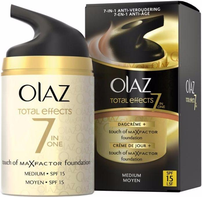 Olaz Total Effects Foundation BB Cream - Medium 50 ml