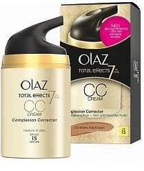 Olaz Total Effects Medium tot donker CC Dagcreme SPF 15 - 50ml