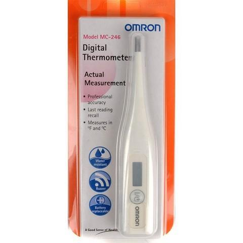 Omron MC246 Digitale Thermometer