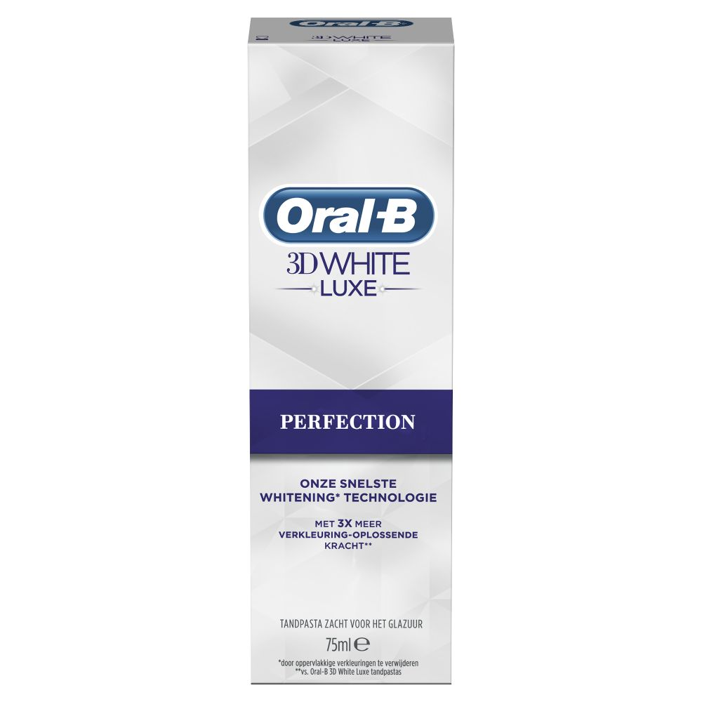 Oral-B Tandpasta 3DWhite Luxe Perfection 75 ml