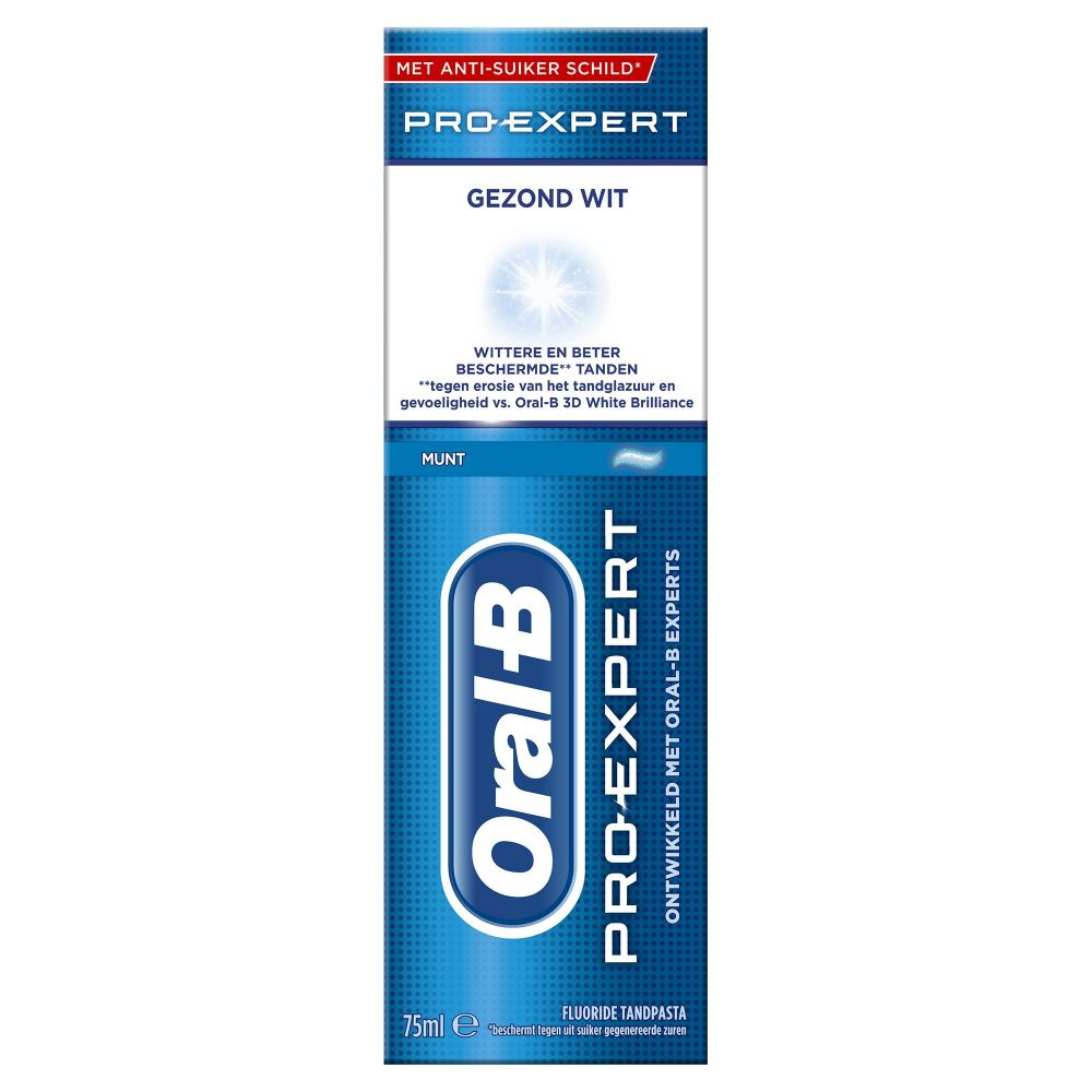 Oral-B Tandpasta Pro-Expert Gezond Wit 75 ml