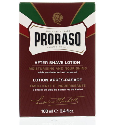Proraso Aftershave Lotion Sandelwood (100ml)