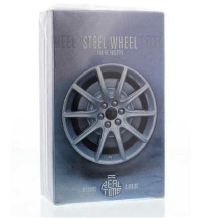 Real Time Steel Wheel Eau De Toilette (100ml)