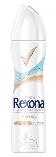 Rexona Deodorant Deospray Women Linen Dry - 150 ml