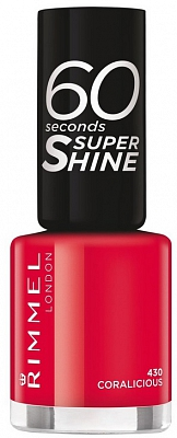 Rimmel 60 Seconds Super Shine Nagellak 430 Coralicious