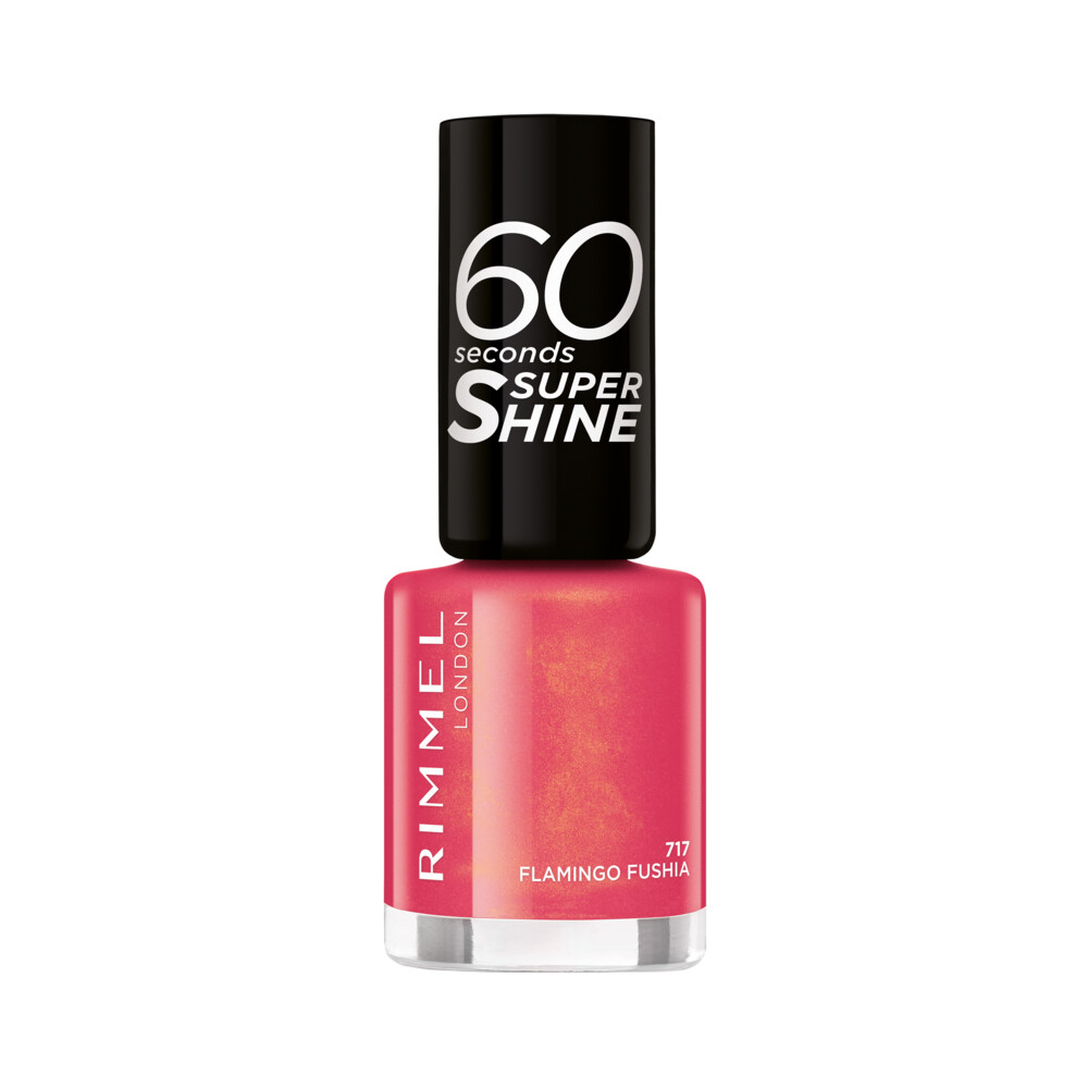 Rimmel London 60 Seconds Supershine Nagellak 717 - Flamingo Fushia