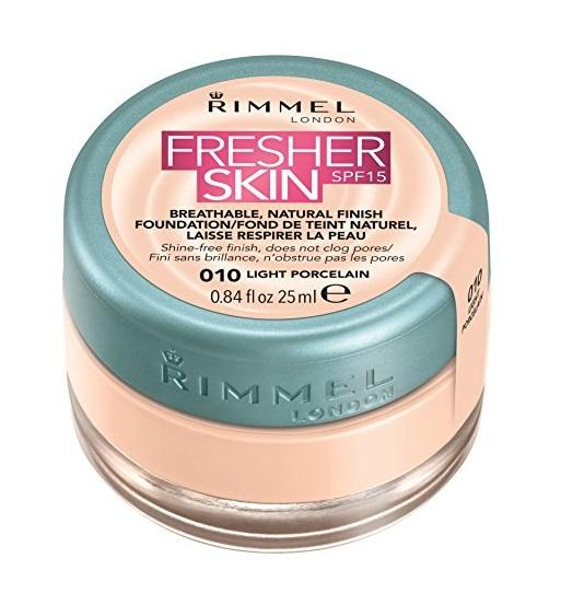 Rimmel London Fresher Skin Foundation - 010 Light Porcelain