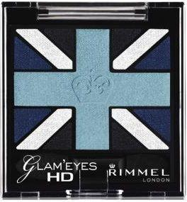 Rimmel London Oogschaduw - Glam eyes HD 003 Royal Blue