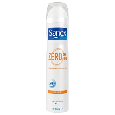 Sanex Deodorant Deospray Zero Sensitive