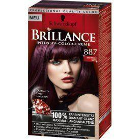 Schwarzkopf Brillance Haarverf - Intensive Color Crème 887 Medium/Rood