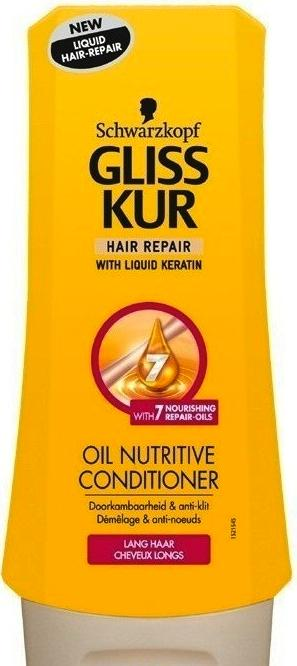 Schwarzkopf Gliss-Kur Conditioner - Oil Nutritive 200 ml.