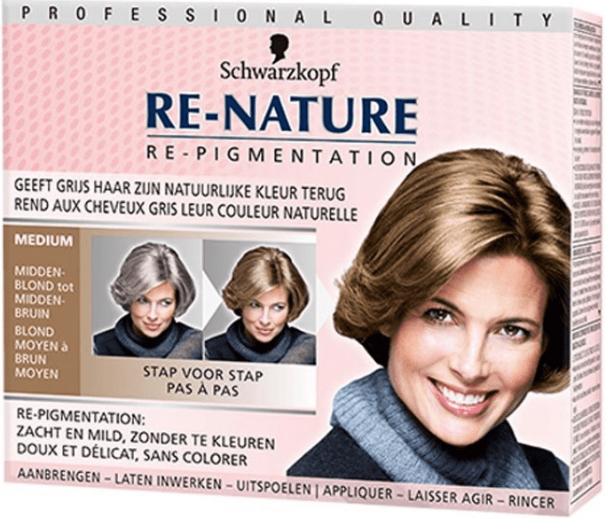 Schwarzkopf Haarverf Re-nature - Medium Women