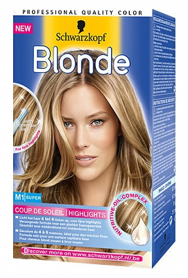 Schwarzkopf Poly Blonde Coupe De Soleil Super