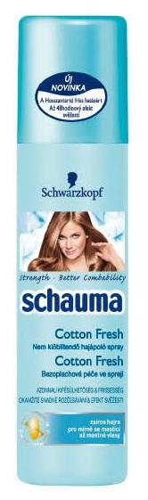 Schwarzkopf Schauma Spray - Cottom Fresh 200ml.