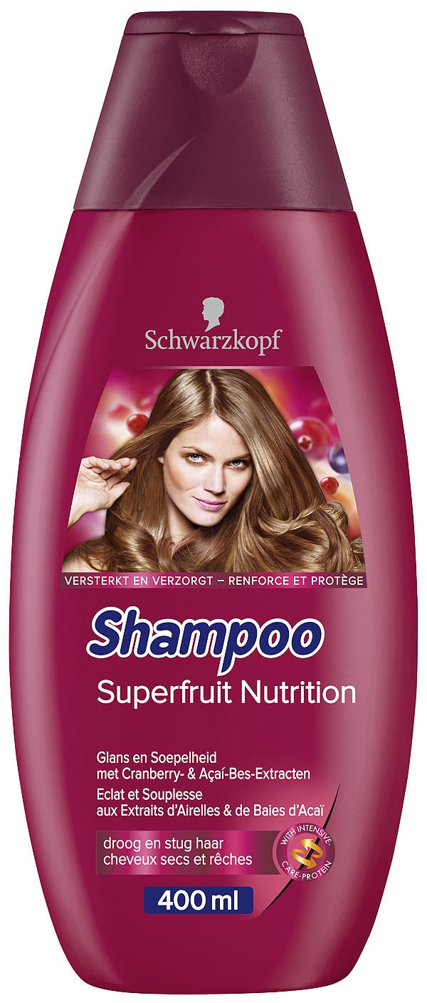 Schwarzkopf Superfruit Nutrition Shampoo - 400ml