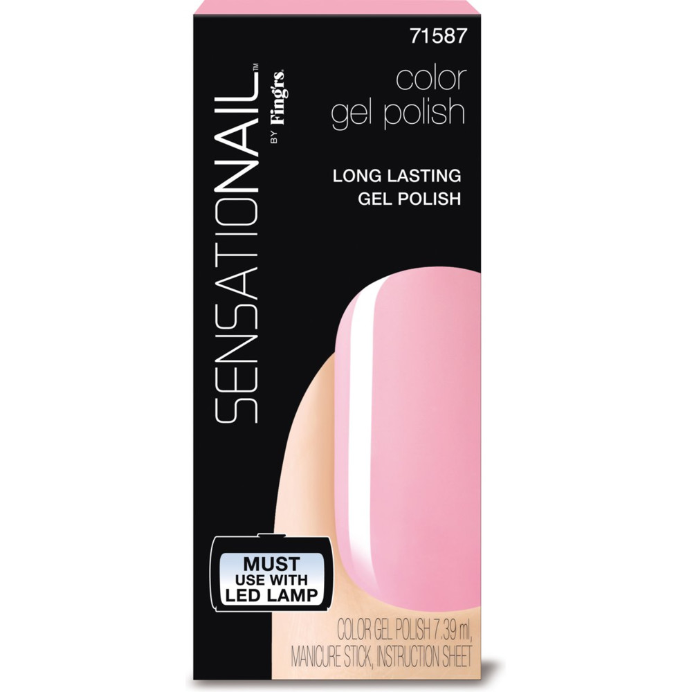 Sensationail Color Gel Polish Pink Chiffon 7,36 ml