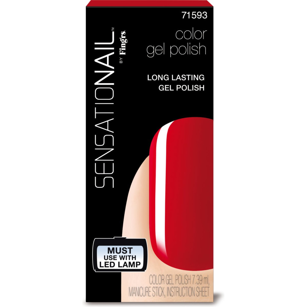 Sensationail Color Gel Polish Scarlet Red 7,36 ml