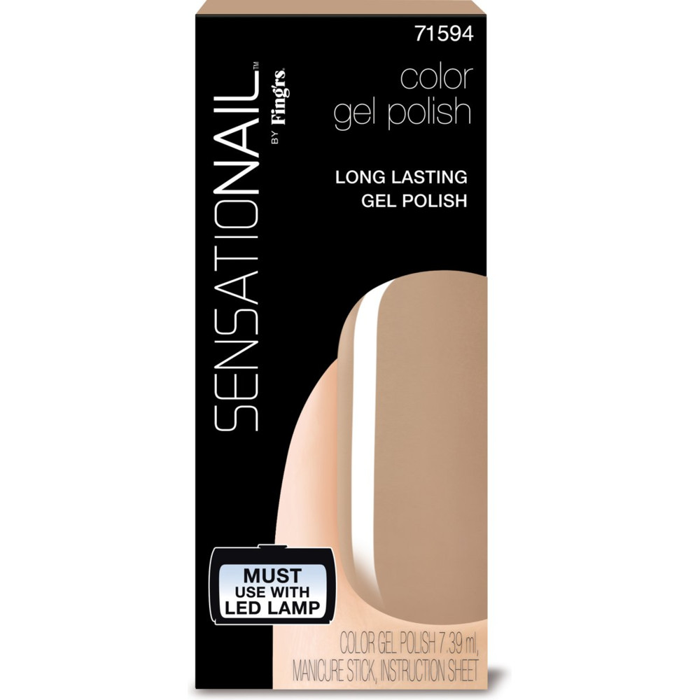 Sensationail Color Gel Polish Taupe Tullips 7,36 ml