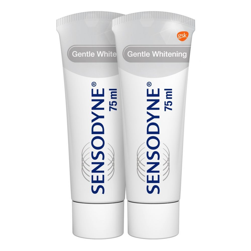 Sensodyne Tandpasta Gentle Whitening Duo 2 x 75 ml