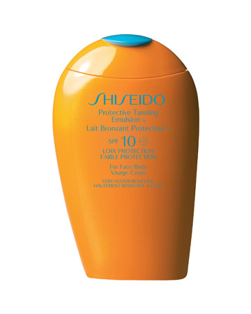 Shiseido Tanning Emulsion SPF 10 150 ml