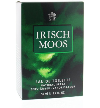 Sir Irisch Moos Eau De Toilette Natural Spray (50ml)