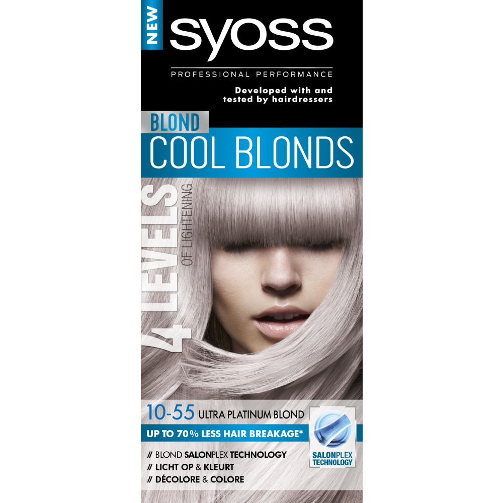 Syoss Color Blond Haarverf 10-55 Ultra Platinum Blond