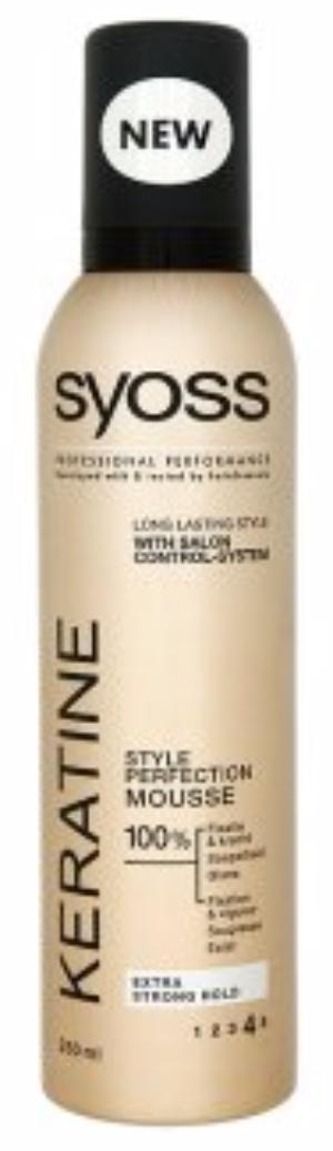 Syoss Mousse - Keratine 250 ml