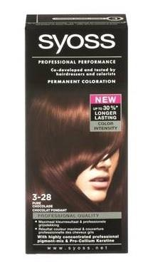 Syoss Professional Performance Haarkleuring - Pure Chocolade 3-28