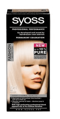 Syoss Professional Performance Haarverf - 10-1 Ice Blonde