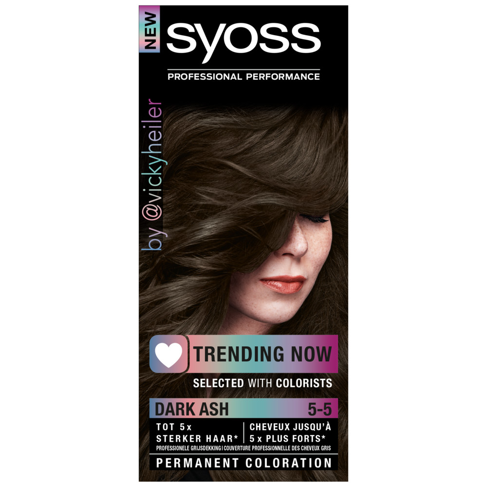 Syoss Trending Now Haarverf 5-5 Dark Ash 50 ml