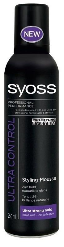 Syoss Ultra Control Haarmousse - 250 ml.