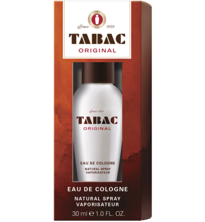 Tabac Original Eau De Cologne Natural Spray (30ml)
